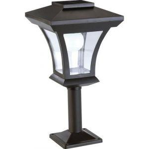 Lunartec Lampadaire de jardin solaire à LED sur pied