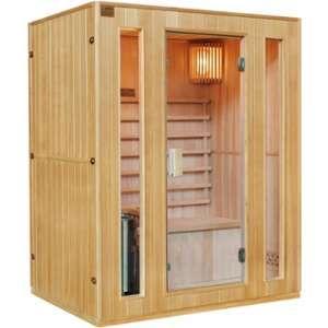 Sauna traditionnel 3 places + poêle HARVIA 3500W - SNÖ