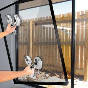 ProPlus 753430 Ventouse Aluminium avec 3 Têtes