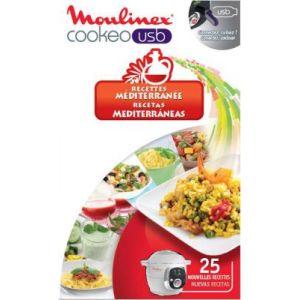 Moulinex XA600011 - Clé USB 25 recettes méditerranéenne pour Cookeo