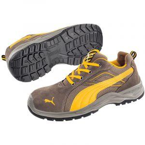 Puma Safety Chaussure de sécurité basse Omni Brown Low S1P SRC Marron 45