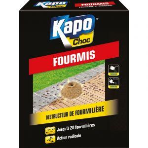 Kapo Destructeur de fourmillière, anti fourmis choc granulés 400 gr