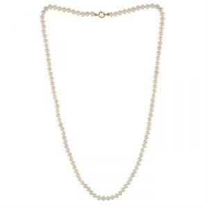 Rêve de diamants CDNCPOR205  - Collier en or 750° et perles d'eau douce