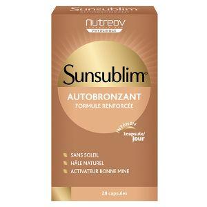 Nutreov Physcience Sunsublim Autobronzant 28 capsules