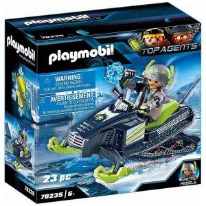Playmobil TOP AGENTS Figurine scooter des neiges Rebelles Arctiques 70235