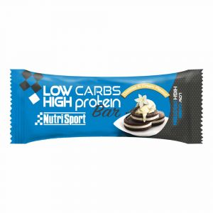 Image de Nutrisport Low Carbs High Protein Bar Cookies And Cream 16 Units