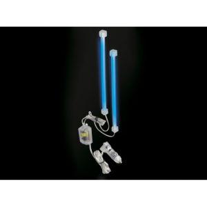 2 Tubes Neon cathode froide - 23cm - bleu