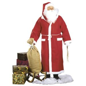 César Déguisement manteau Père Noël