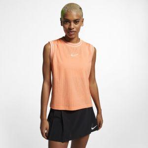 Nike Débardeur de tennis Court pour Femme - Orange - Taille L - Femme