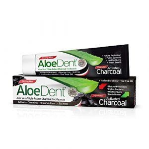 AloeDent Triple action activated charcoal