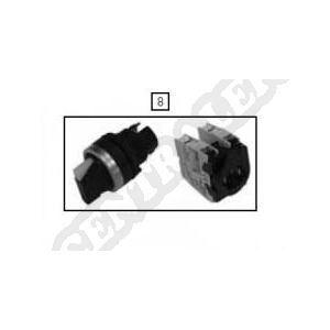 7900569 - Bouton 3P triphasé pour pompe à chaleur Climexel