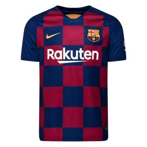 Nike Maillot de football FC Barcelona 2019/20 Stadium Home pour Homme - Bleu - Taille S - Male
