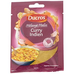 Ducros Malin Sachet Poudre Mélange pour Curry Indien 20 g