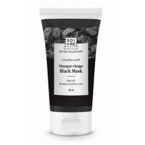 Soivre Masque visage Black Mask