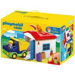 Playmobil 6759 - 1.2.3 : Camion avec garage