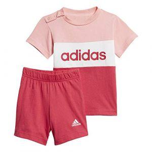 Adidas Ensemble CB Set Rouge - Taille 3-6 Mois