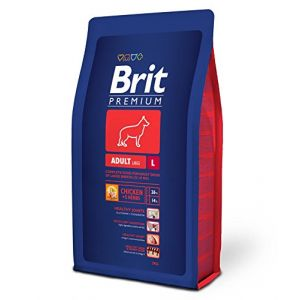 Brit Care Premium - Croquettes pour chien adulte - 3 kg - Taille L