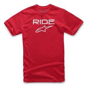 Alpinestars Tee-shirt Ride 2.0 rouge/blanc - M