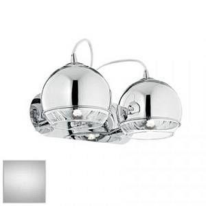 Ideal lux Applique 2 lampes design Discovery Chrome Métal 082431