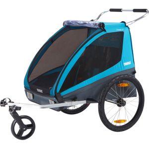 Thule Coaster XT - Remorque vélo - 2016 bleu/noir Remorques pour enfant