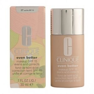 Clinique Even better 07 Vanilla - Fond de teint éclat correction teint SPF 15 unifie et corrige le teint