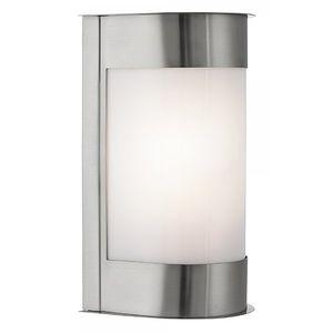 Searchlight Applique 13 cm Outdoor Lights - Acier inoxydable et polycarbonate