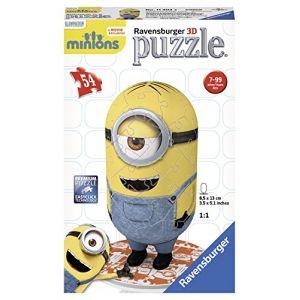 Ravensburger Puzzle 3D Les Minions 54 pièces