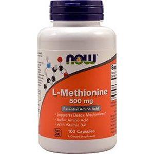 Now Foods L-méthionine 500 mg - 100 gélules