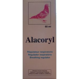 Alacoryl Fluidifiant respiratoire pour pigeons 60 ml