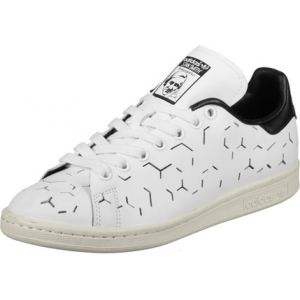 Adidas Stan Smith, Baskets Femme, Blanc (Footwear White/Footwear White/Core Black), 39 1/3 EU