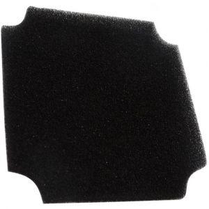 Aerzetix 10x Filtre de rechange C15166 45ppi pour grille de protection C15115 60x60mm ventilation ventilateur boîtier ordinateur pc