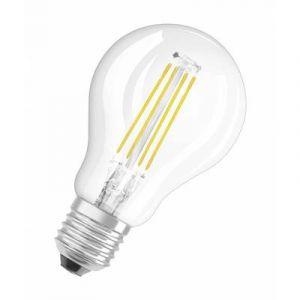 Osram Ampoule LED Filament, Forme sphérique, Culot E27, 4W Equivalent 40W, 220-240V, claire, Blanc Chaud 2700K