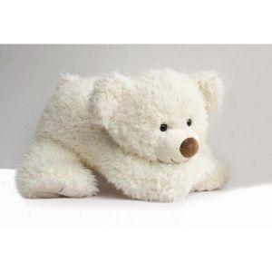 Histoire d'ours Peluche Pat'ours blanc (65 cm)