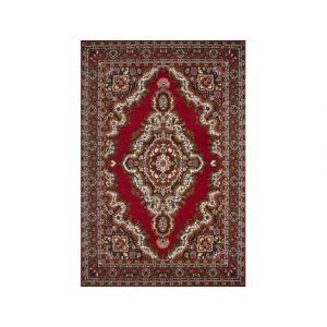 Lalee Tapis oriental rouge pour salon Gabes - Couleur - Rouge, Taille - 60 x 110 cm