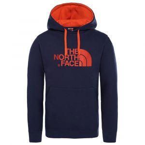 The North Face Sweat-shirt SWEAT A CAPUCHE DREW PEAK MARINE bleu - Taille EU S,EU M,EU L