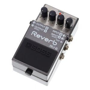 Boss Effect RV-6 - Pédale reverb numérique