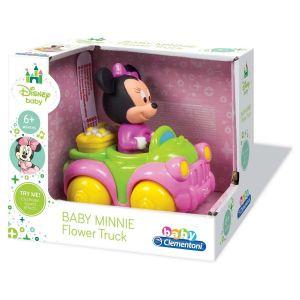 Clementoni Voiture musicale : La camionnette des fleurs de Minnie