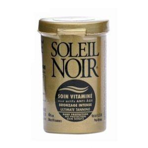 Soleil noir Soin vitaminé bronzage intense sans filtre
