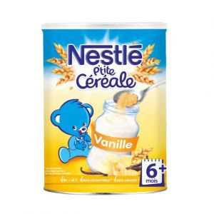 Nestlé Céréales en poudre bio, gout vanille dès 6 mois