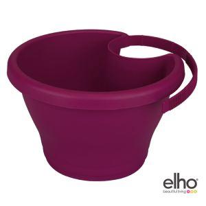 Elho Pot de fleurs Corsica pour gouttière 24 cm