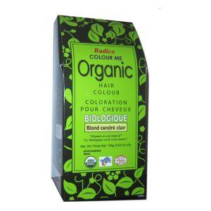 Radico Colour Me Organic : Blond cendré clair - Coloration pour cheveux biologique