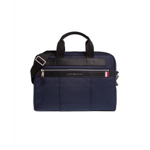 Tommy Hilfiger ELEVATED NYLON COMPUTER BAG bleu - Taille Unique