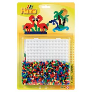 Hama Kit de perles Midi : Plaque carrée