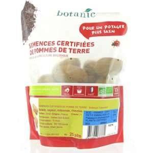 Botanic 25 plants de pommes de terre allians bio calibre 0001