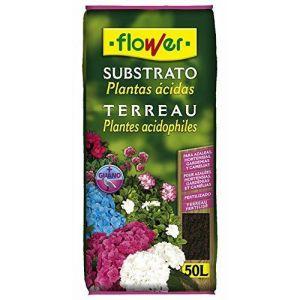 Flower Terreau pour plantes acidophiles 50 l - Comparer avec Touslesprix.com