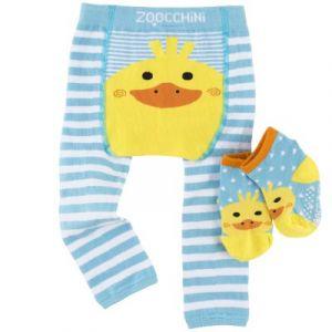 Zoocchini Legging et chaussettes Puddles le canard (12-18 mois)