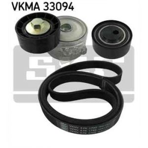 SKF Kit de courroies d'accessoires VKMA33094