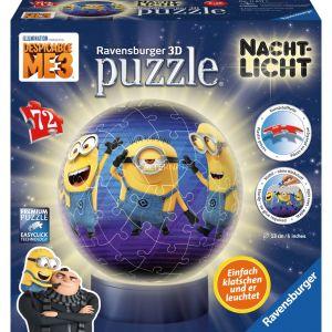 Ravensburger Puzzle Ball 3D 72 pièces : Moi, moche et méchant 3