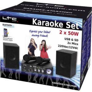 LTC Audio Systèmes karaoké KARAOKE-STAR2MKII