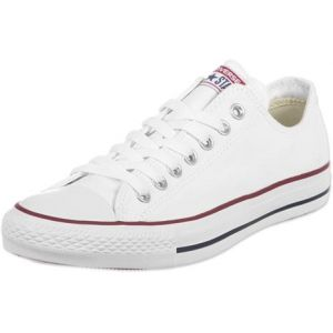 Converse Chaussures casual unisexes Chuck Taylor All Star Basses Toile Blanc - Taille 42